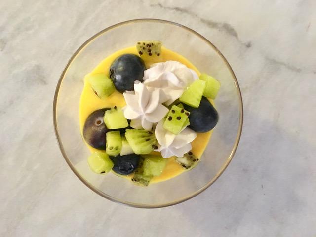 Vegan Lemon Mousse